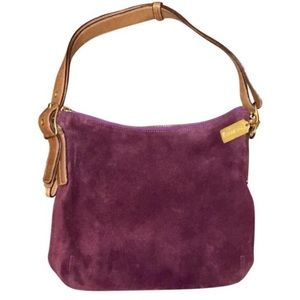 Coach F3S-9327 genuine suede bag